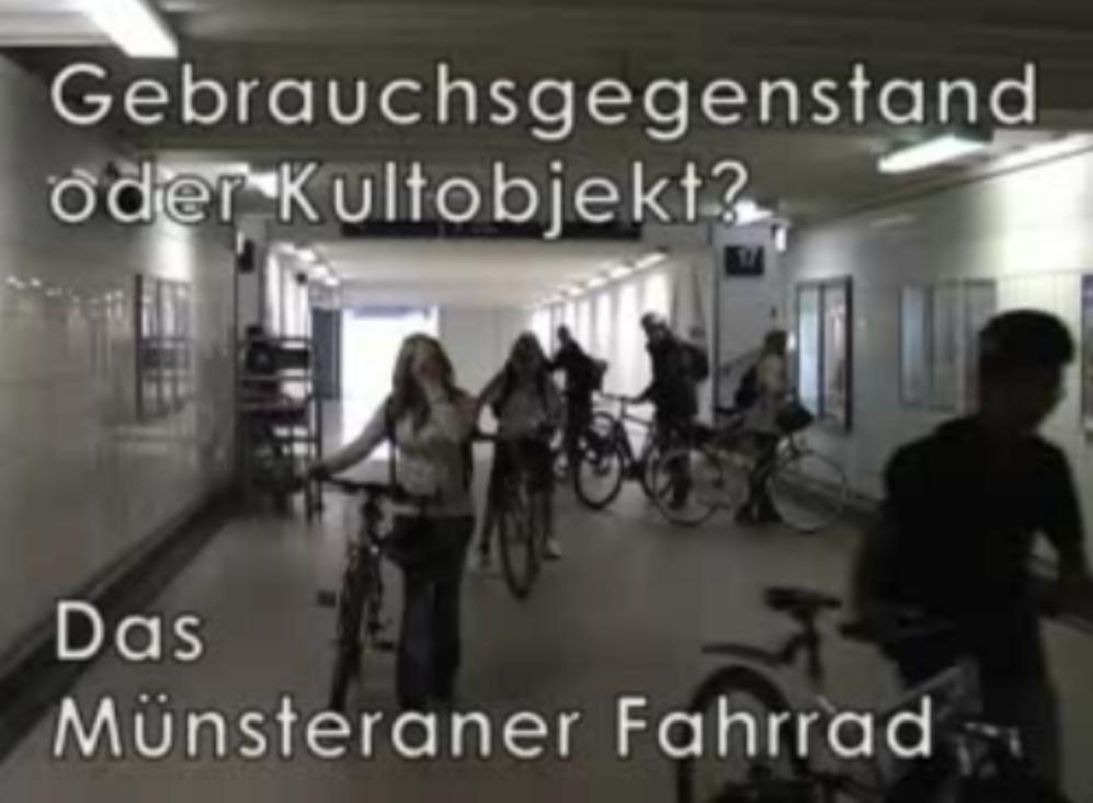 Gebrauchsgegenstand oder Kultobjekt? - Das Fahrrad in Münster