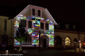 audio visual projection mapping @ SHINY TOYS SPACE