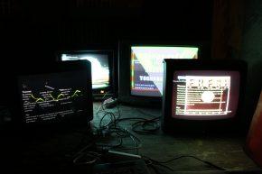 14.6.2014 - ERROR TEKK - analog video glitch patterns [Ausstellung, Mülheim a.d. Ruhr]