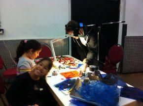 Workshop Projection Mapping für Kinder - Carls zweites Gesicht