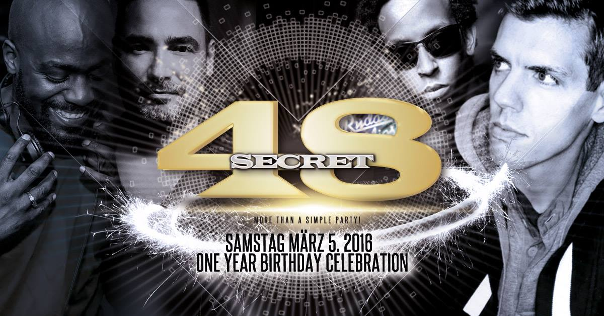 Secret 48 Flyer