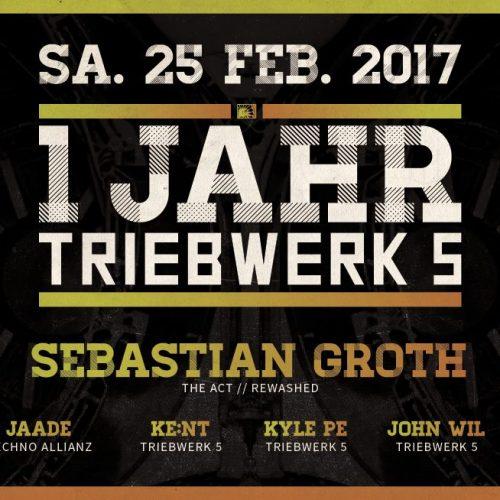 25.2.2017 - 1 Jahr Triebwerk5 [Münster]