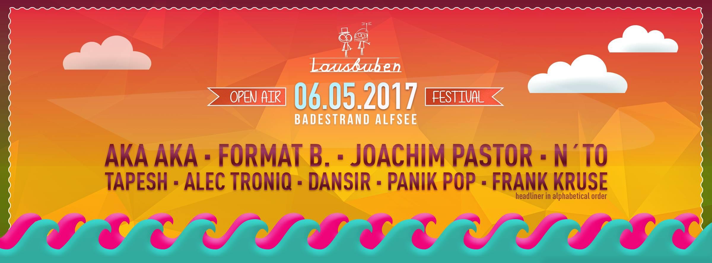 6.5.2017 - Lausbuben Open Air Festival [Alfsee]