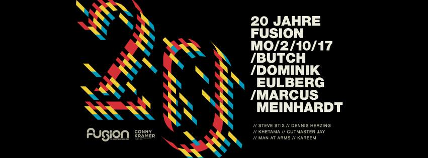 2.10.2017 - static @ 20 Jahre Fusion Club [Münster]