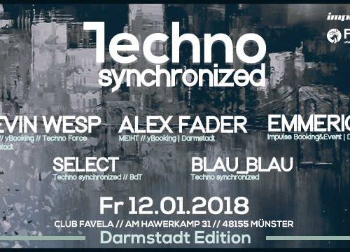12.1.2018 - Techno Synchronized