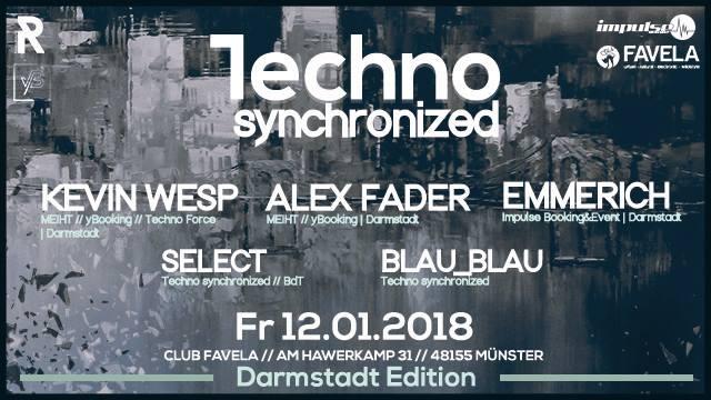 12.1.2018 - Techno Synchronized