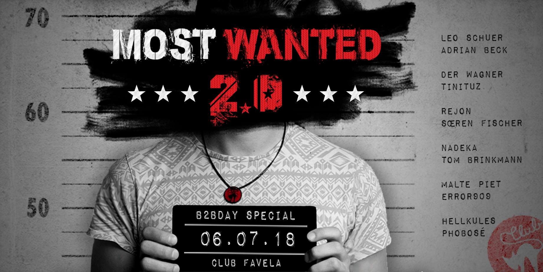 6.7.2018 - Most Wanted 2.0 [Münster]
