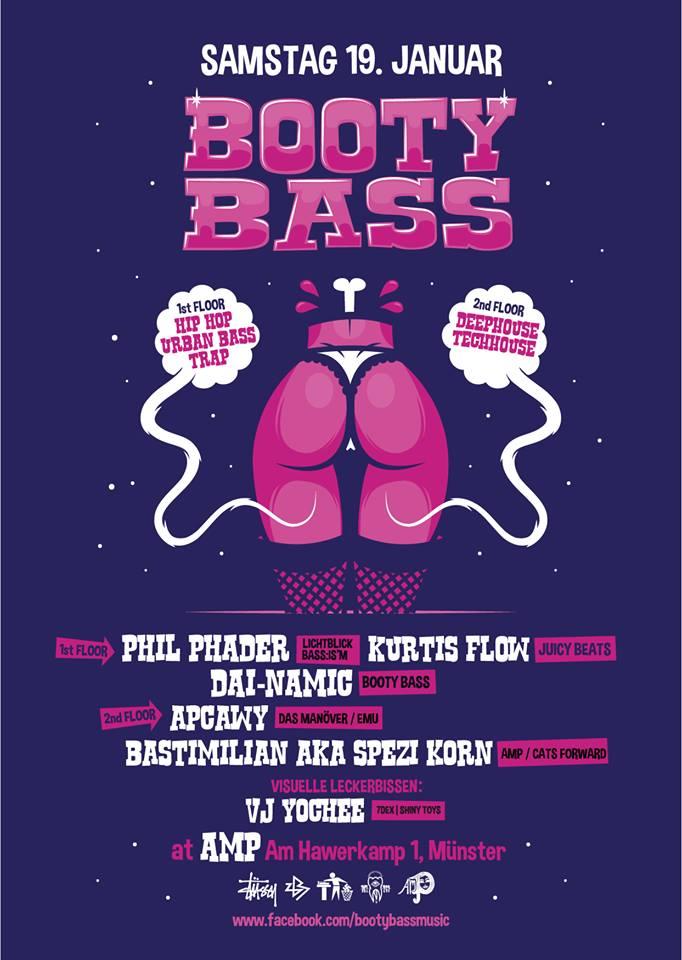 19.1.2019 - Booty Bass [Münster]